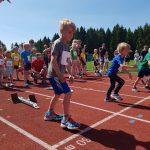 Hans Christopher Melbye til start på sin første 60 m