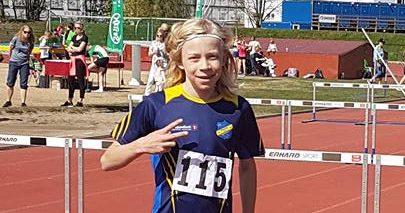 Viljar KM i 60 m hekk 2018